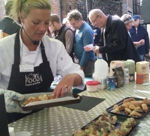 LFHW chef & Doves flour